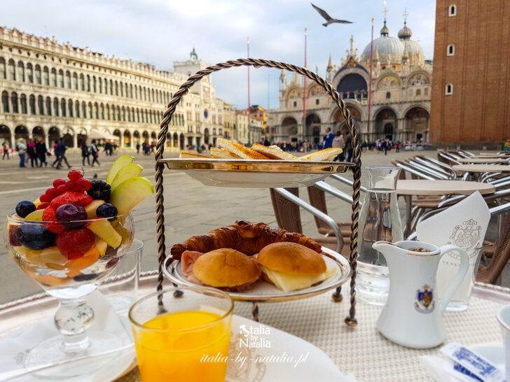 Caffe Florian w Wenecji najstarsza kawiarnia we Włoszech, najpiękniejszy salon na świecie