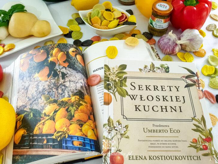 Sekrety włoskiej kuchni - enokulinarna podróż przez Włochy z Eleną Kostioukovitch