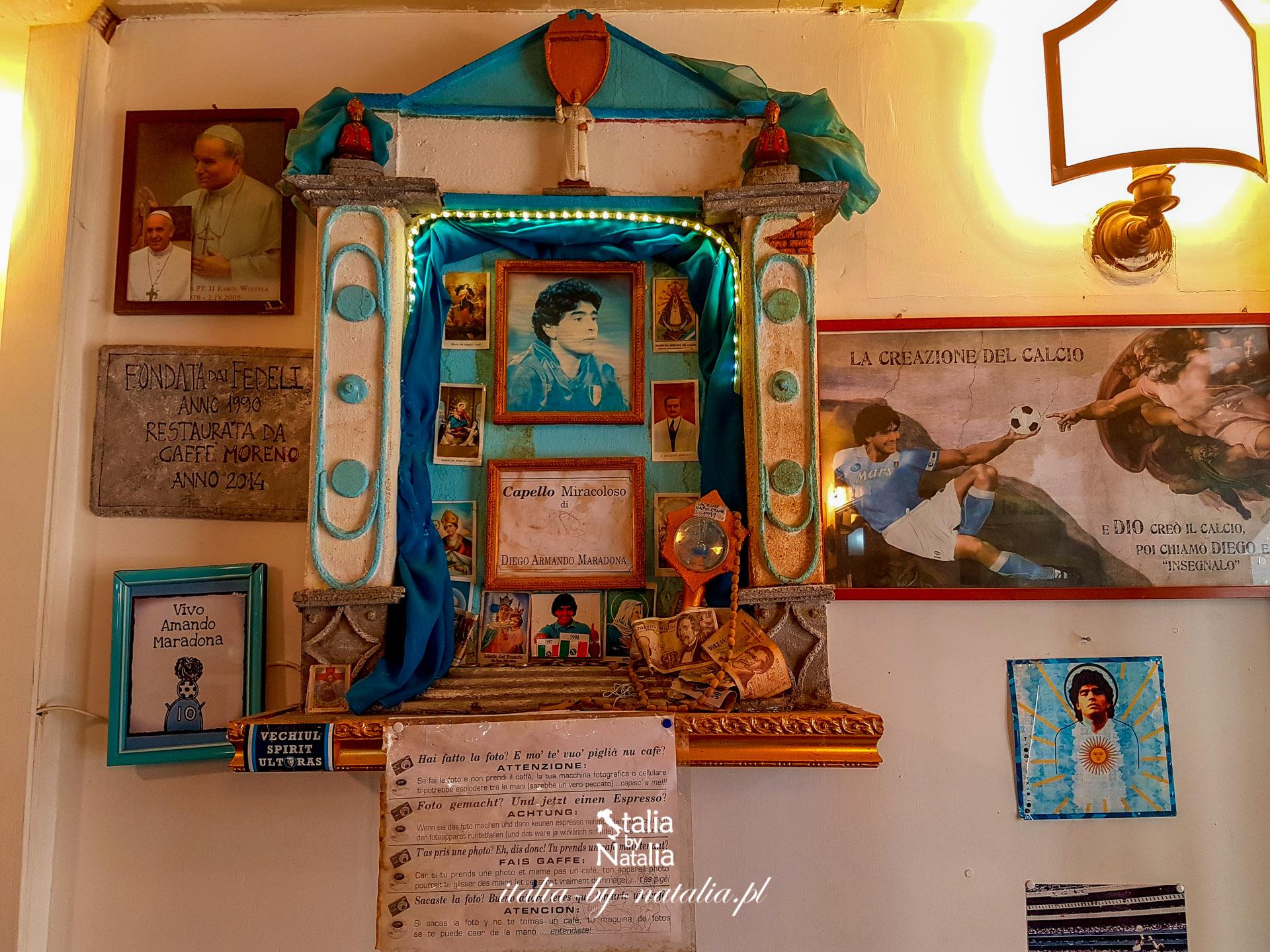 Kapliczka Diego Maradony w Neapolu - jak powstała i gdzie ją znaleźć?