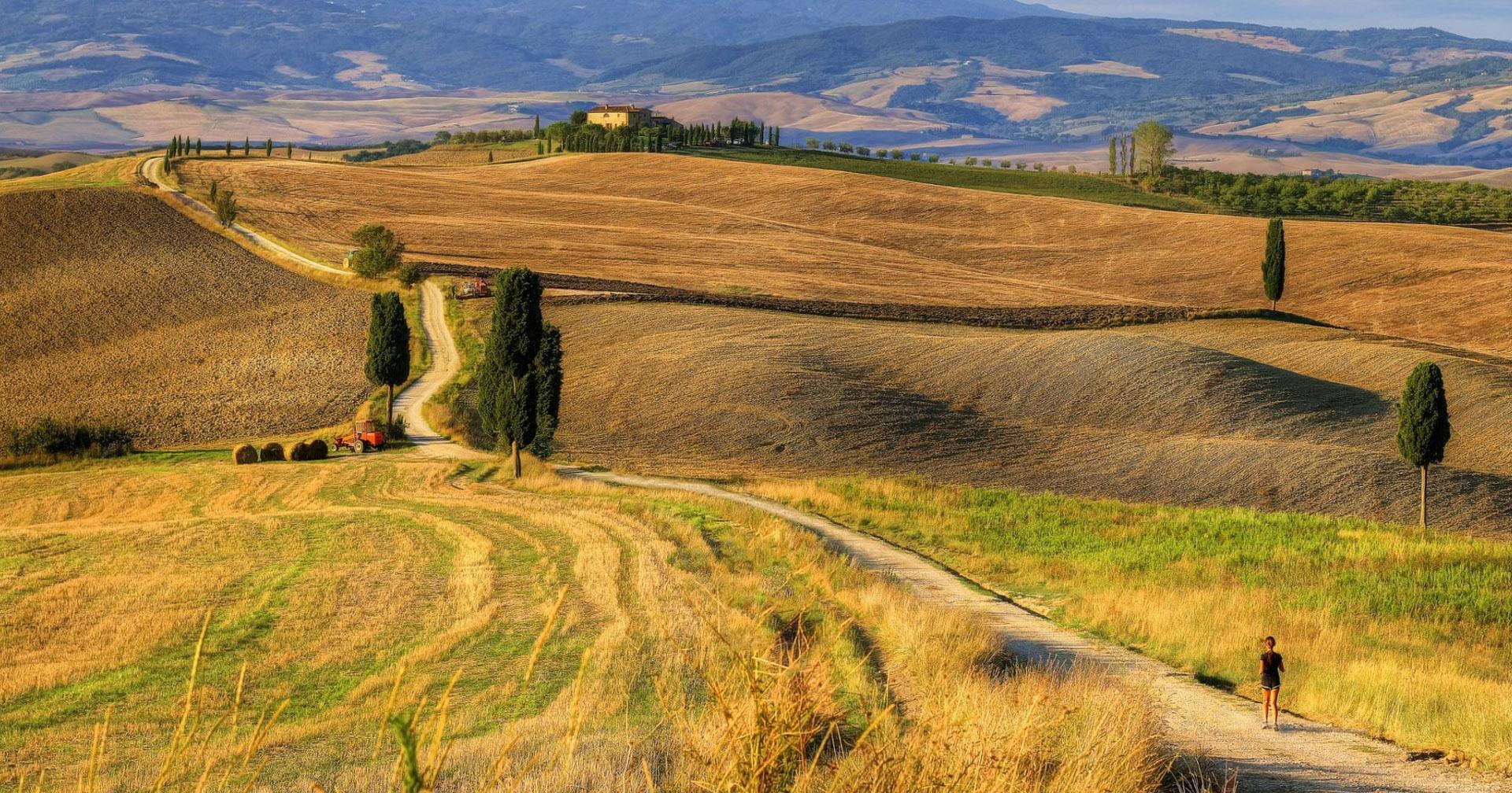 """Gdzie kręcono film """"Gladiator"""" w Toskanii? Jak znaleźć dom i drogę Gladiatora?"""