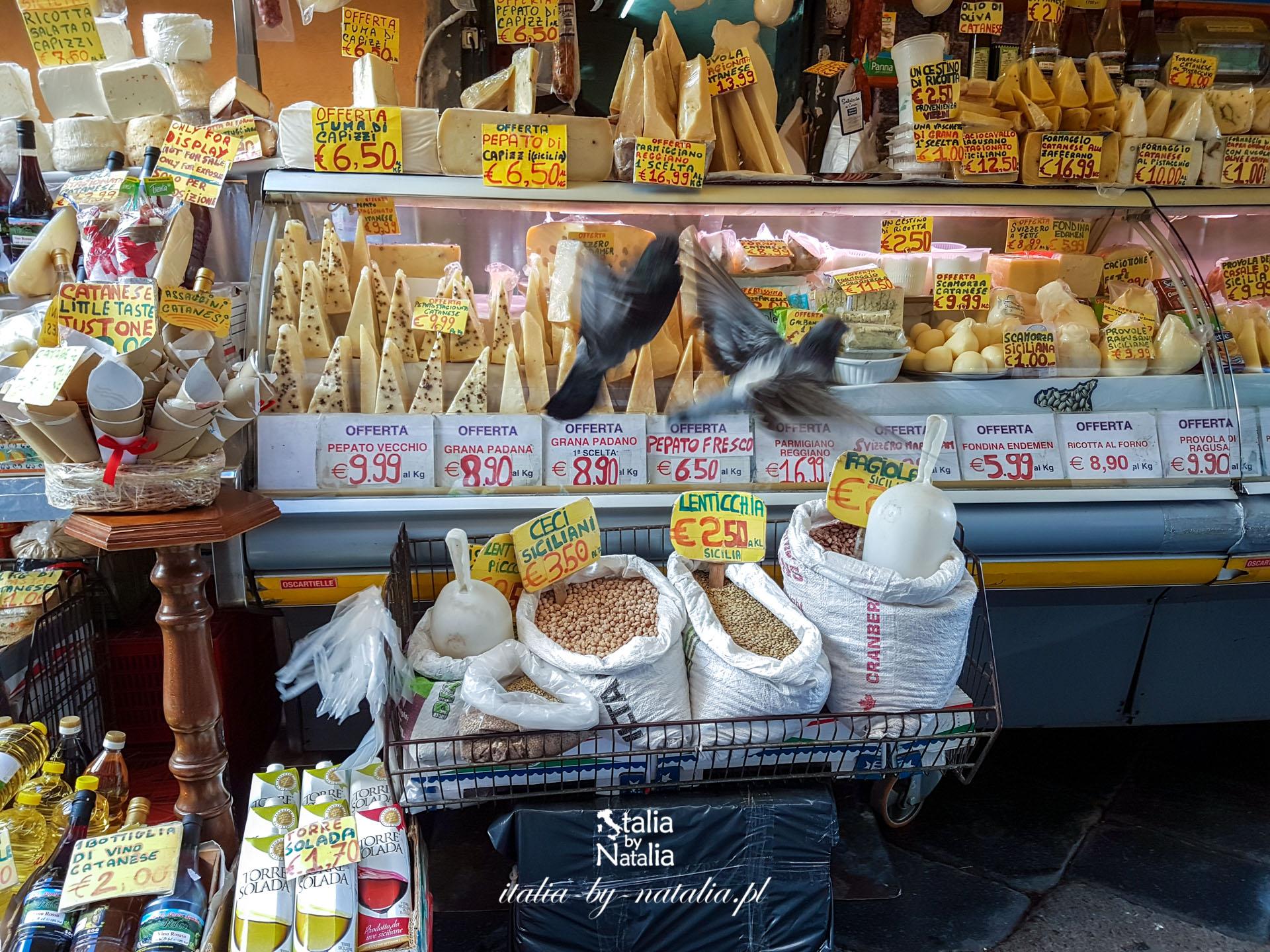 Targ rybny w Katanii - co można kupić, zjeść i zobaczyć na Pescheria di Catania?