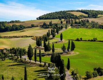 Monticchiello - malownicze miasteczko w Val d'Orcia, południowa Toskania