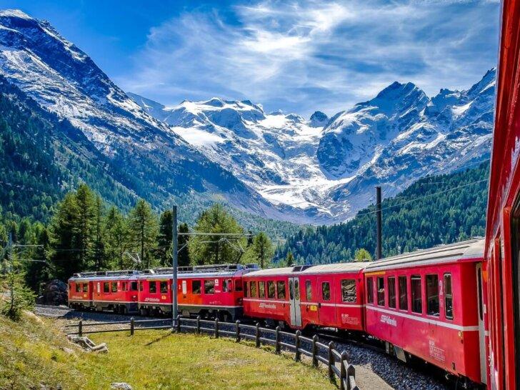 Lot do Bergamo i tydzień bez samochodu. Jezioro Como, Garda i Bernina Express w Szwajcarii