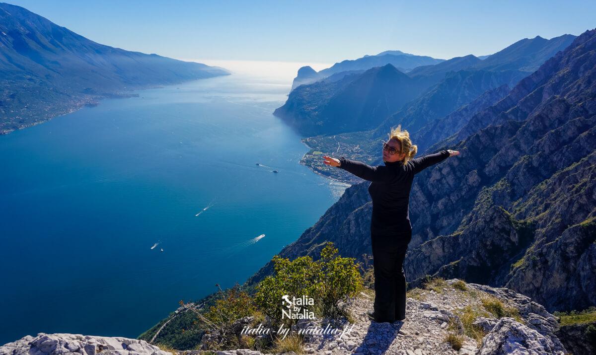 Punta Larici (Cima Larici) - najpiękniejszy punkt widokowy jeziora Garda. Pieszo i rowerem