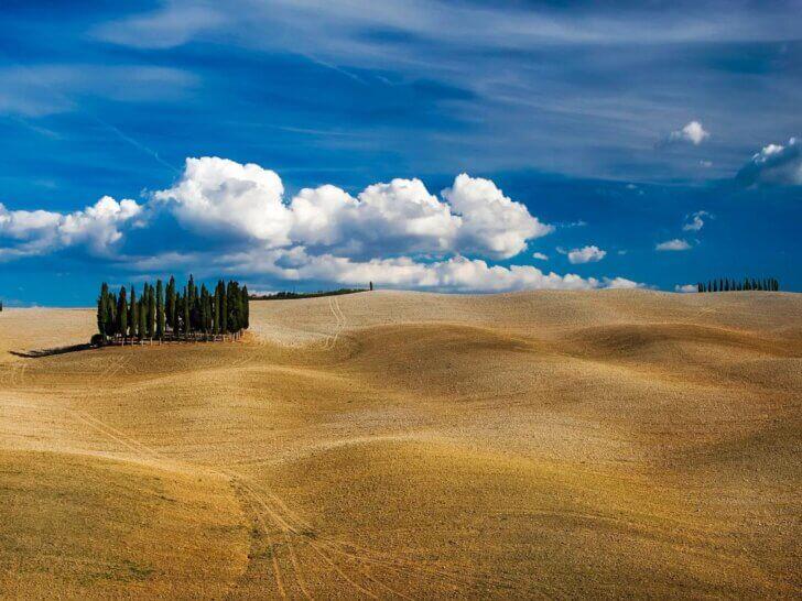 Kiedy jechać do Toskanii? Jakiej pogody można się spodziewać w poszczególnych miesiącach?