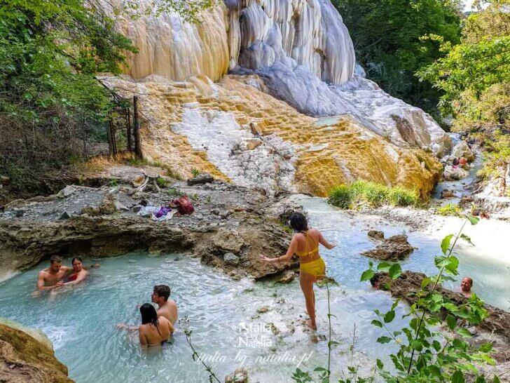 Bagni San Filippo – najlepsze gorące źródła w Toskania