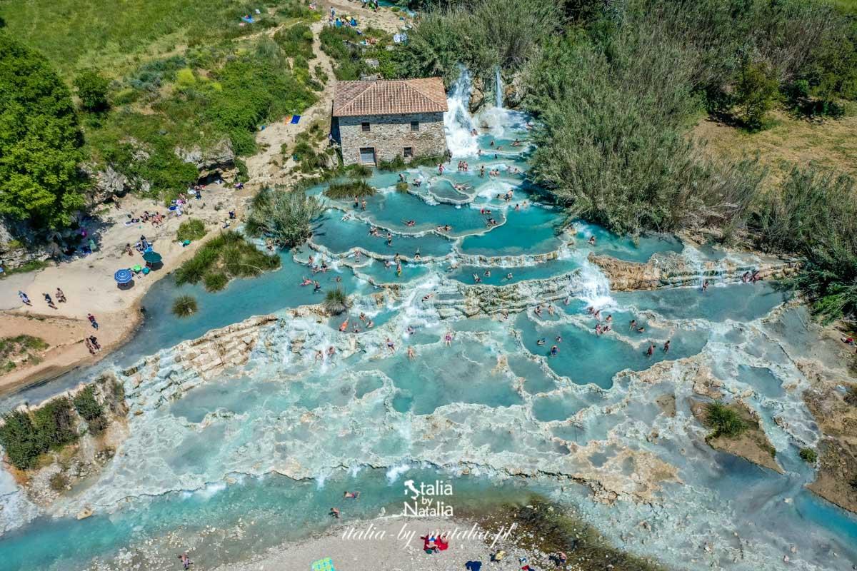 Gorące źródła w Toskanii - darmowe termy w pięciu miejscach