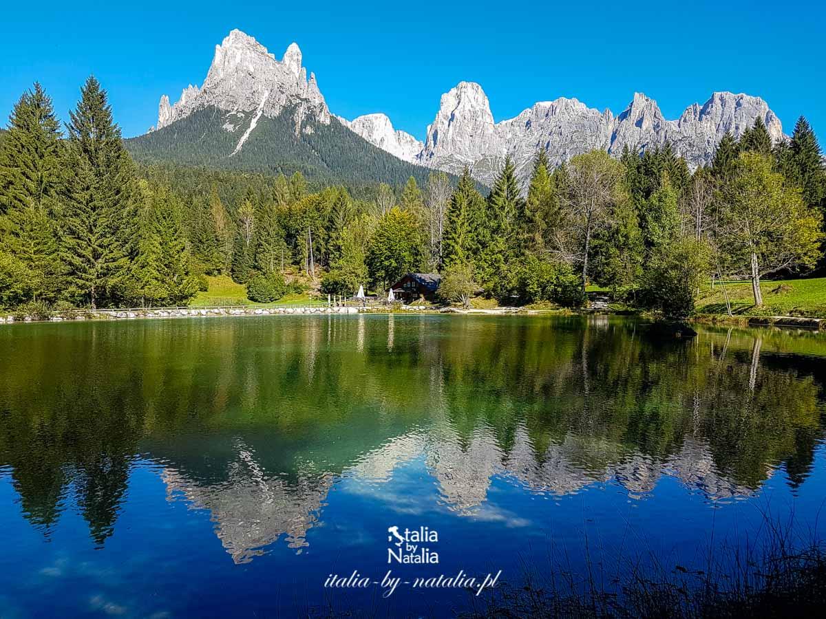 Val Canali - malownicza dolina we wschodnich Dolomitach. Pale di San Martino, Trentino