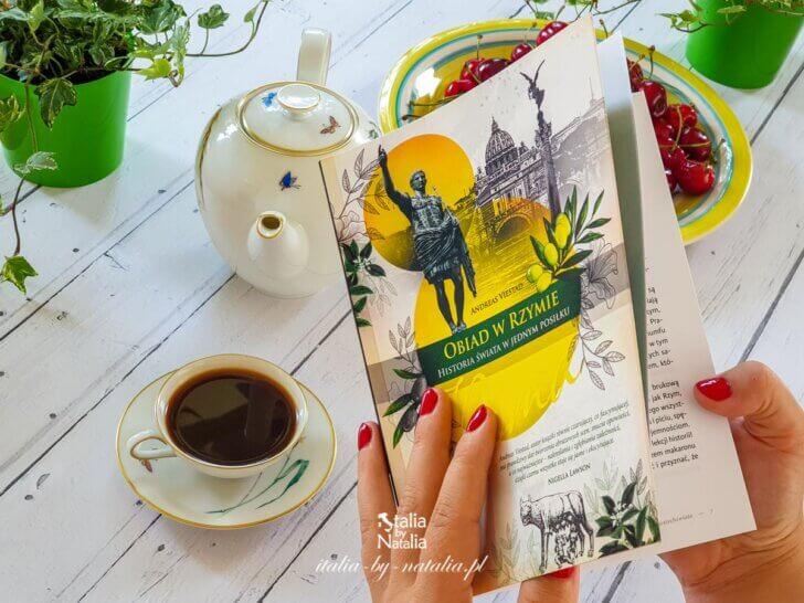 Obiad w Rzymie. Historia świata w jednym posiłku - recenzja książki Andreasa Viestada